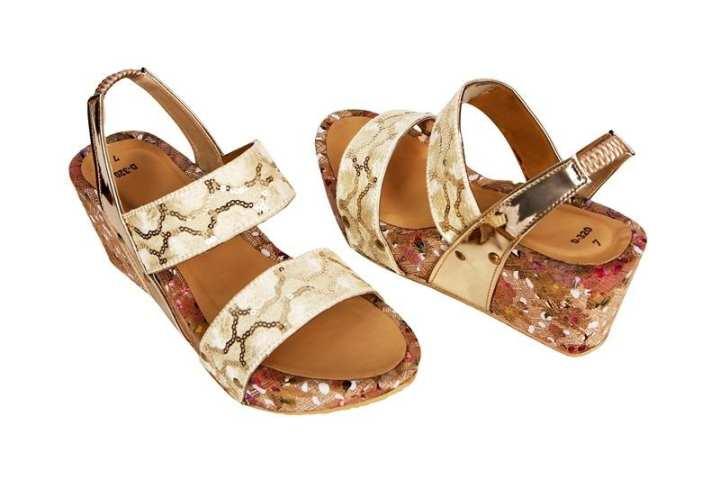 Golden Heels For Her