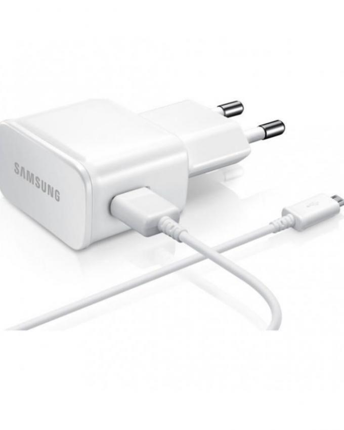 Adaptive Charger With Cable For Note 5 - White