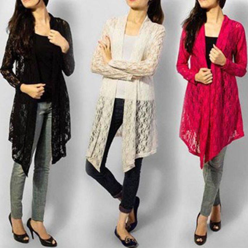 Pack Of 2 Women's Net Shrug