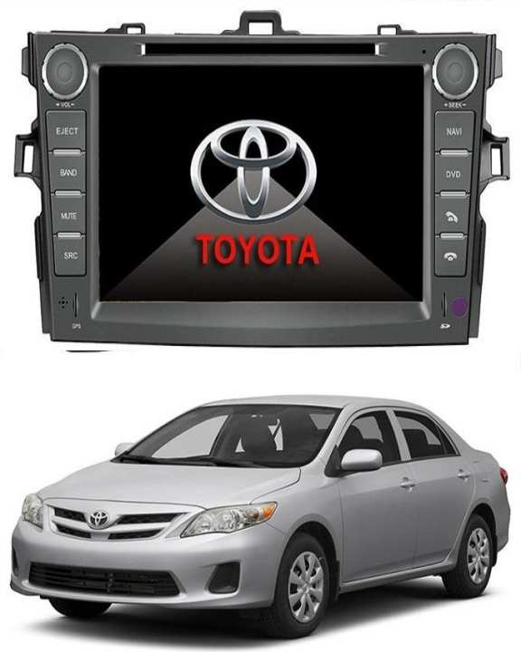 Toyota - Corolla 2009-2014 Double Din Multimedia DVD Player