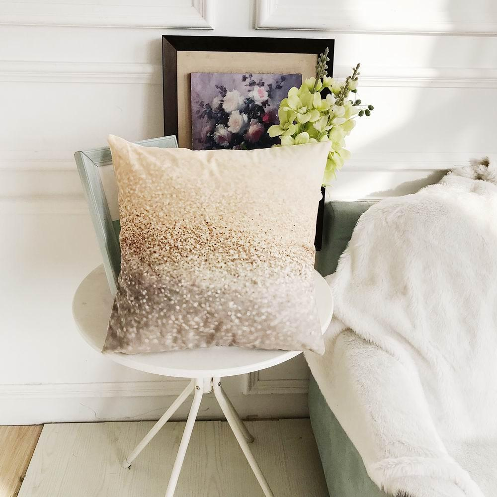 Decorative Upholstery Cushion Cover Cozy Throw Pillow Cases