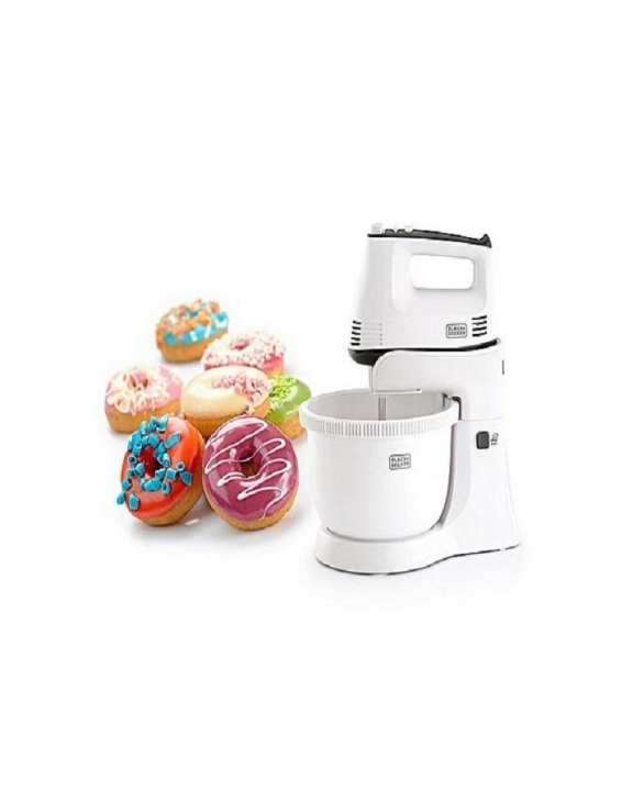 M700 - Bowl & Hand Stand Mixer With Stainless Steel beater and dough hooks - White