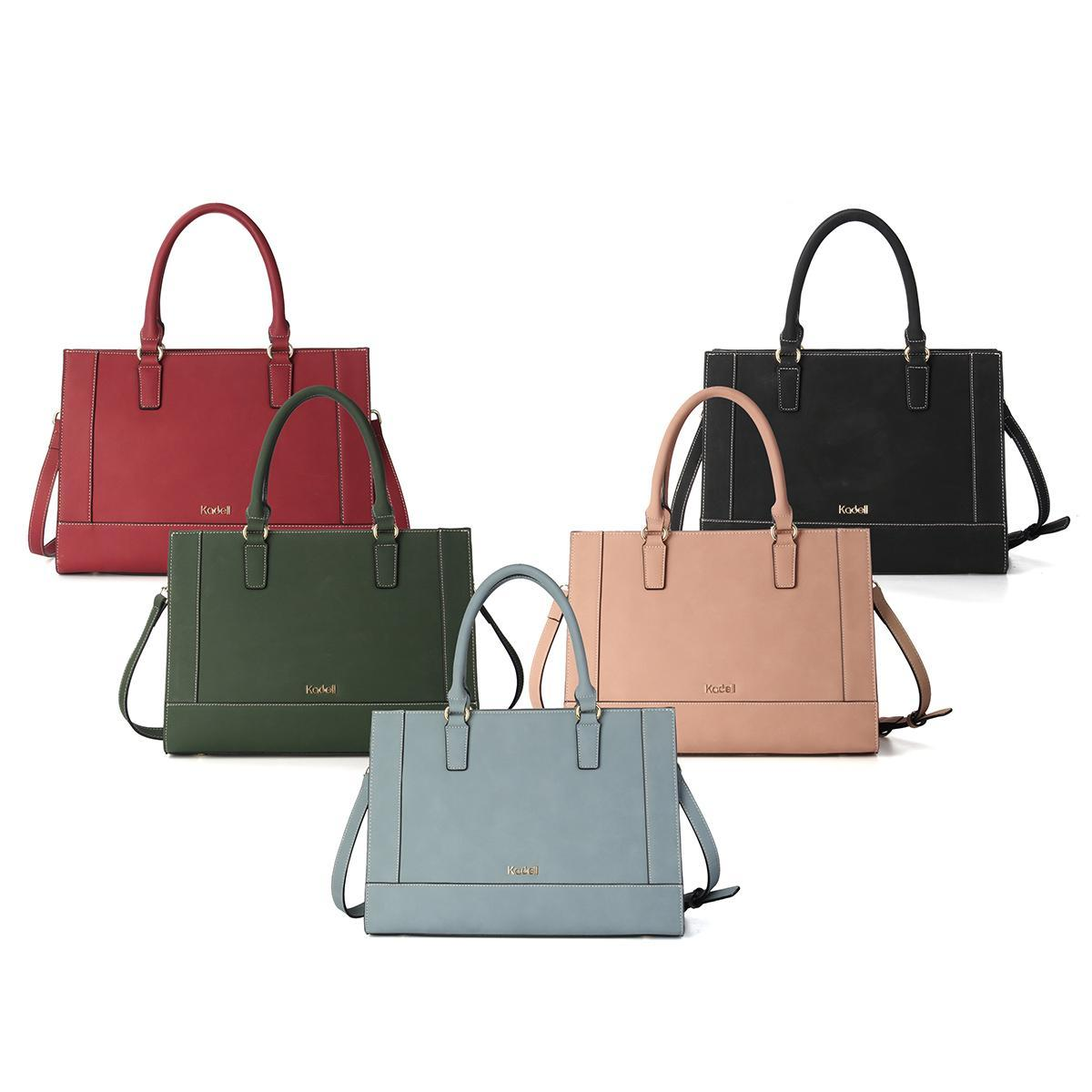 e3f706f0d50b Specifications of Kadell spring simple style Cambridge bag large capacity  matte leather ladies handbag