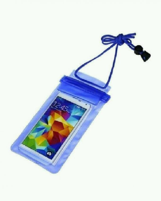 Universal Water Proof Mobile Pouch - Blue
