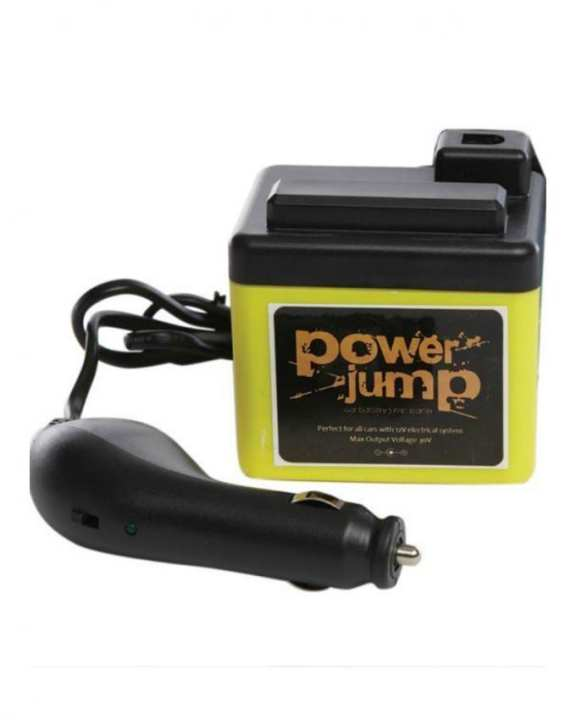 TJ Power Jump for Cars Battery Rapid Charge - Yellow