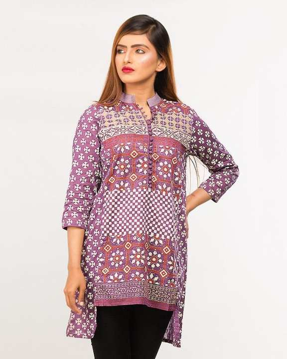 BEECHTREE - Pretwear PURPLE 1-Pcs Shirt For Women