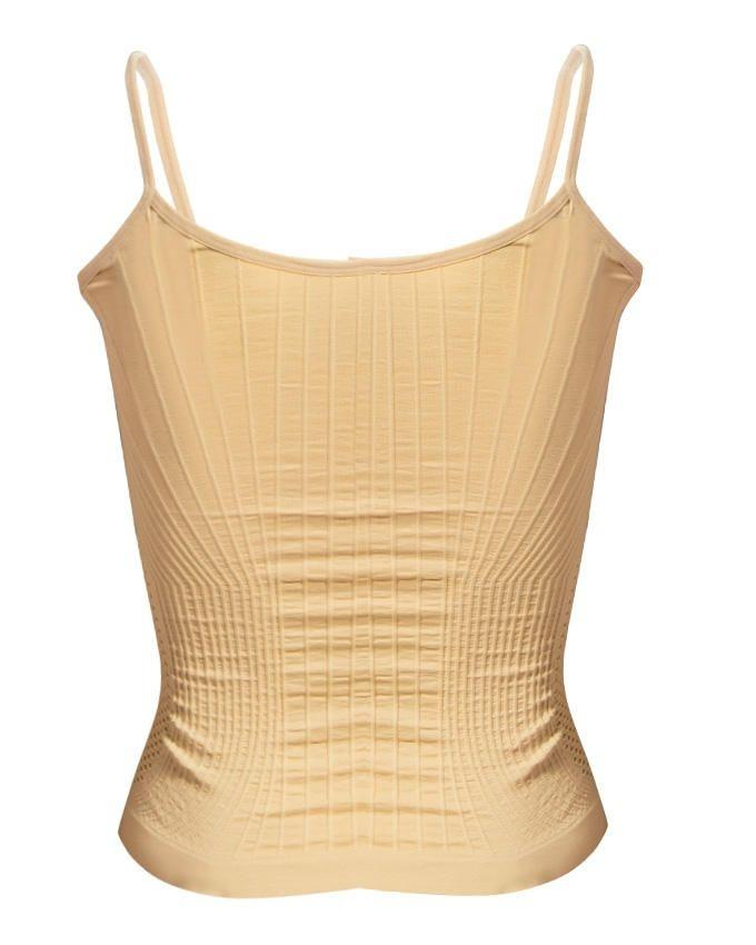 Skin Mixed Cotton Stretchable Cami Top -Free Size