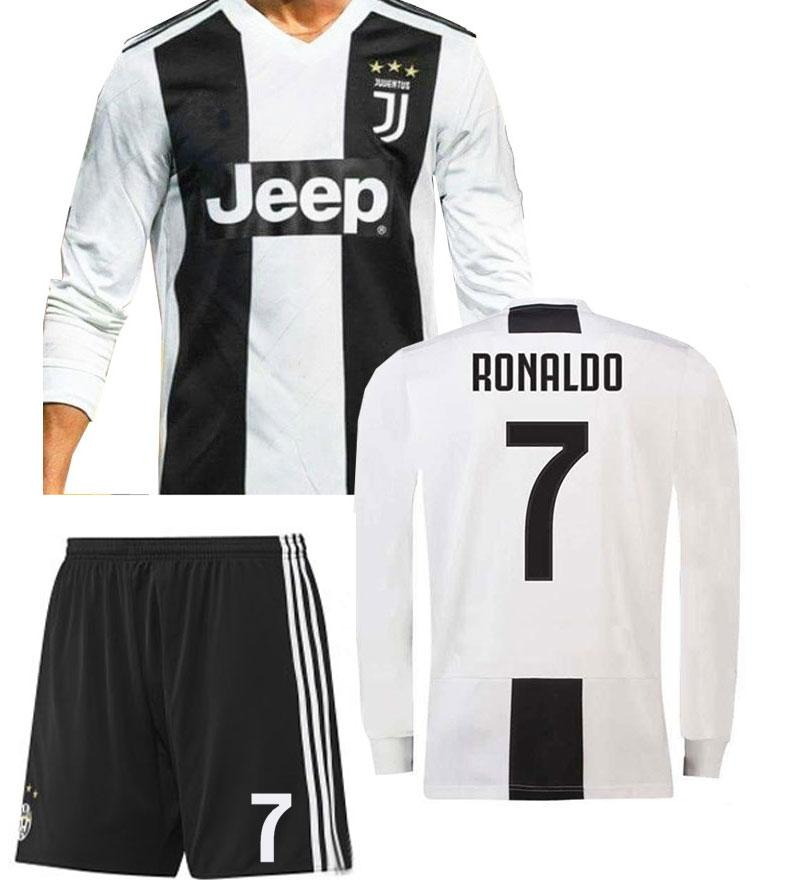 reputable site 99ebe 2a1c4 Kids Boys Juventus Cristiano Ronaldo CR7 Home Shirt & Short Kit 2019/20