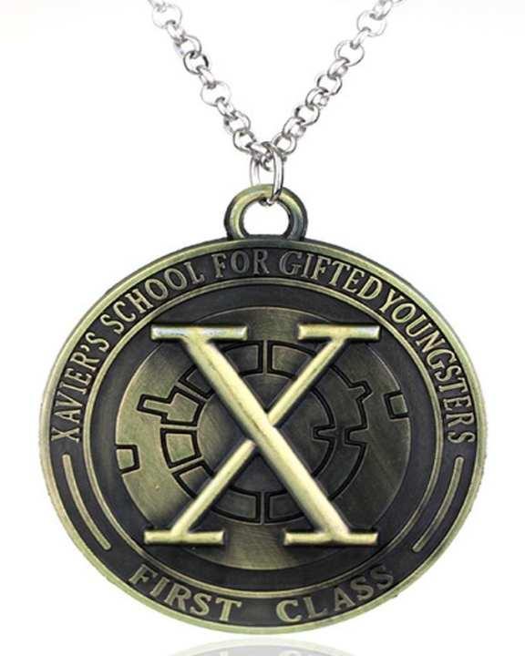 X-Men First Class Symbol Pendant Necklace-Metal