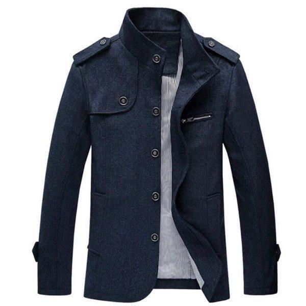 b7fcd0b2d Men's Button Fleece Coat