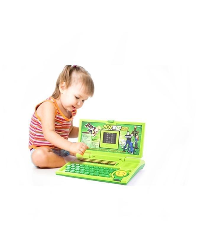 Ben10 English Learning Laptop - 1101E - Green