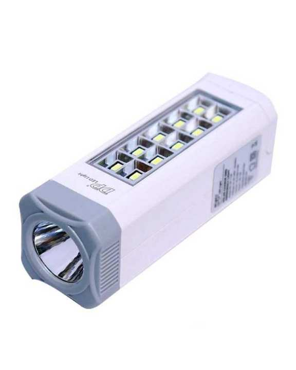 LED Solar Charge Emergency Light - LED-7108 - White