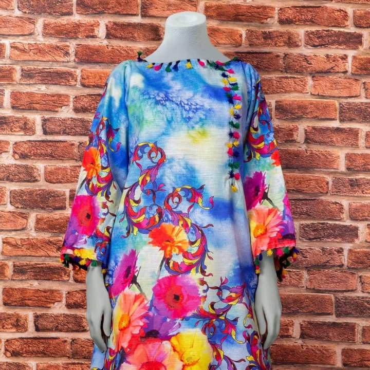 Eminent Digital Printed Khaddar Unstitched Winter Kurti - Shocking by Chase Value Centre