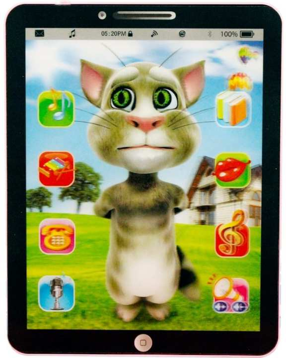 Large Talking Tom Smart Learning & Educational Tablet for Kids