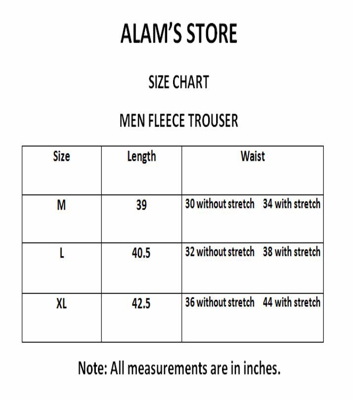 Grey - Fleece - Trousers for Men