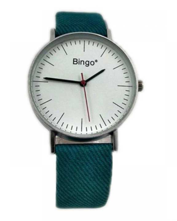 Leather Straps Watch - Turquoise Blue