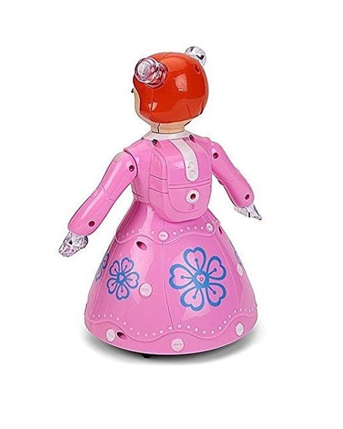 3D Dancing Princess Doll - Pink