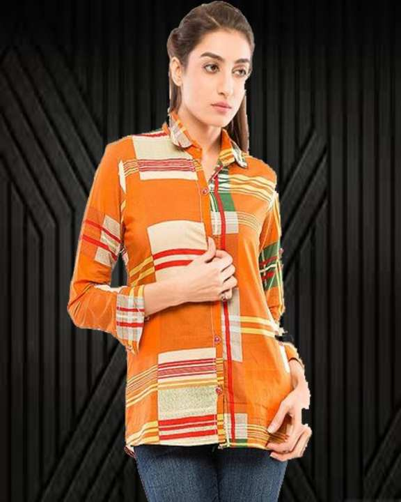 Women MultiColour Tunic with Lawn Fabric