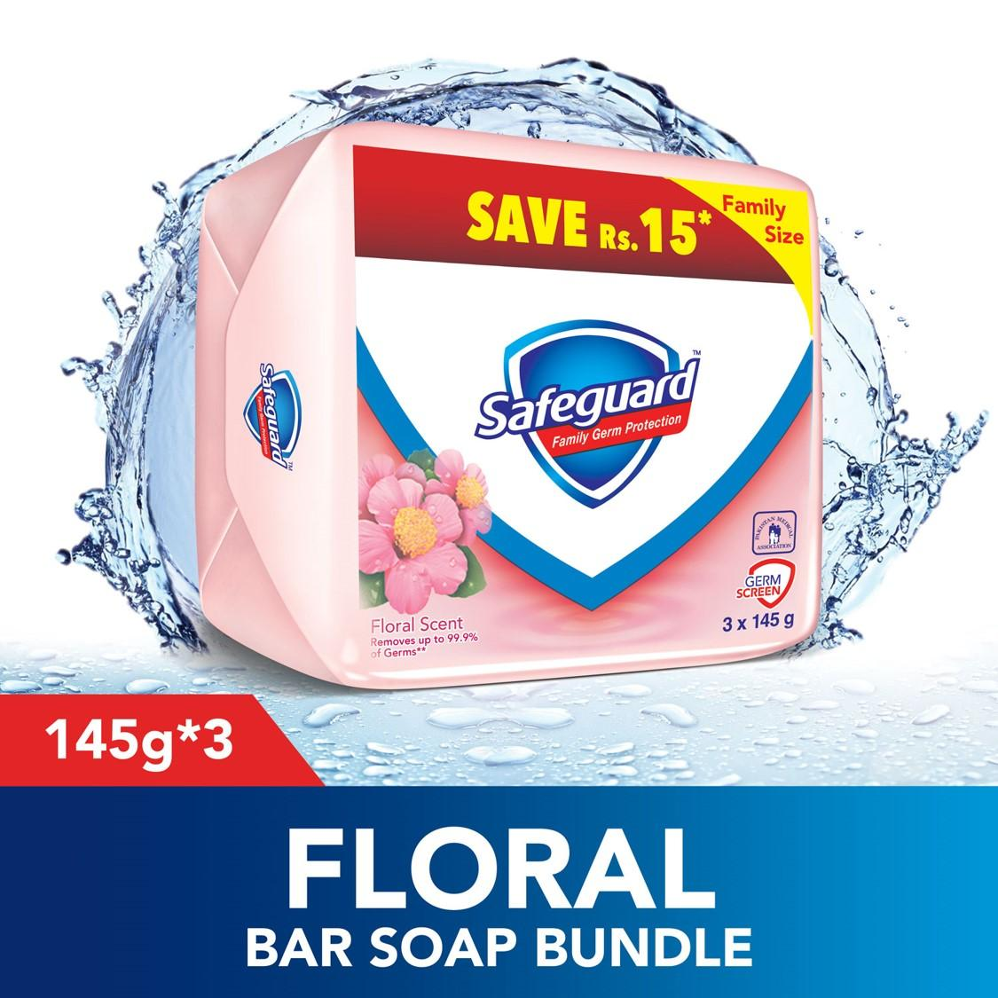 Buy Soap Shower Gels Best Price In Pakistan Pure Baby Laundry Liquid Refill 2 Get 3 700 Ml Safeguard Floral Scent Bar 145gm Bundle Of