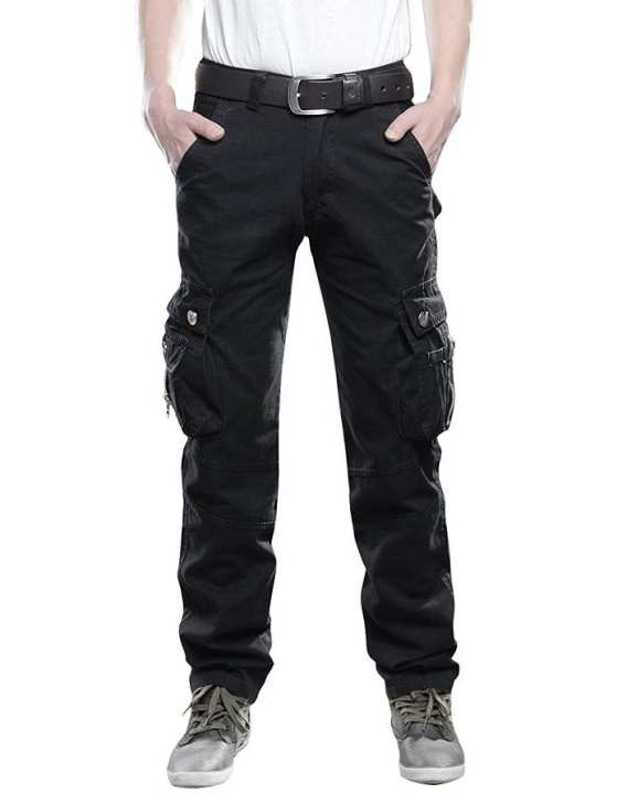 Men Chinos Cargo Pants