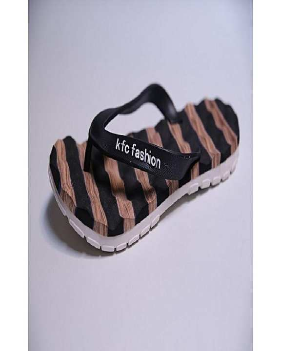 Black Rubber Flip Flops For Men