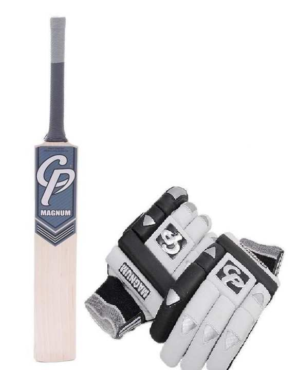 Magnum cricket bat with Gloves