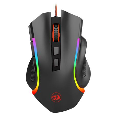 Programmable Griffin 7200 DPI 7 RGB color modes, lighting and breathing effects Gaming Mouse for Windows PC Games