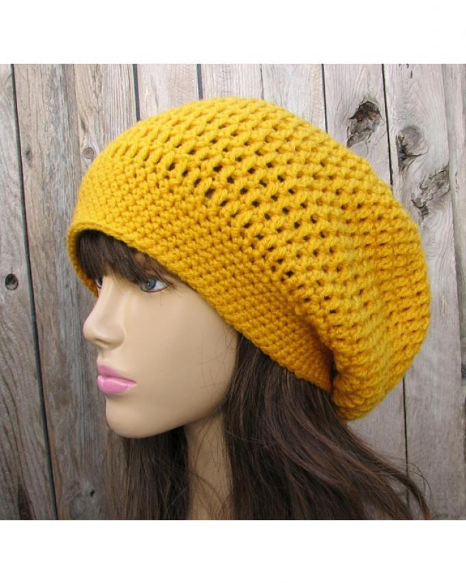Crochet Slouchy Beanie Wool Cap For Women Buy Online At Best Prices