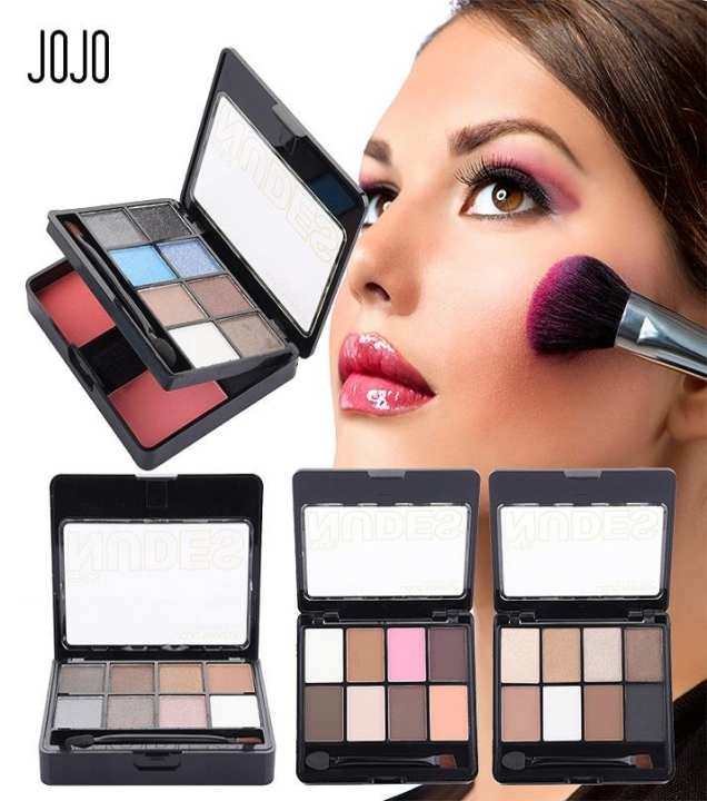 Professional Glitter Eye Shadow and Makeup Kit - 6 Colors