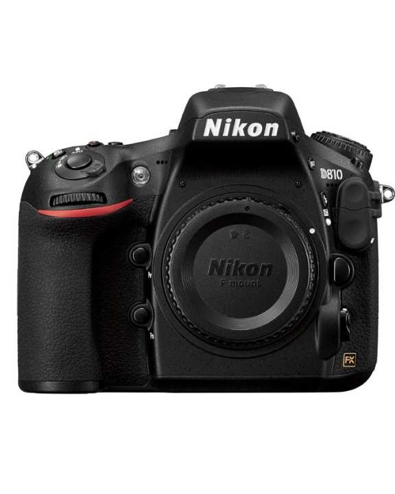 D810 - DSLR Camera - Body Only - Black