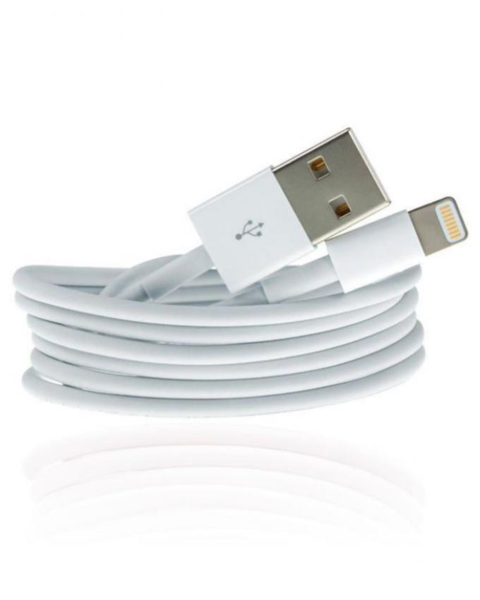 Pack of 3 - Data Cable, Charger and Earphone - White