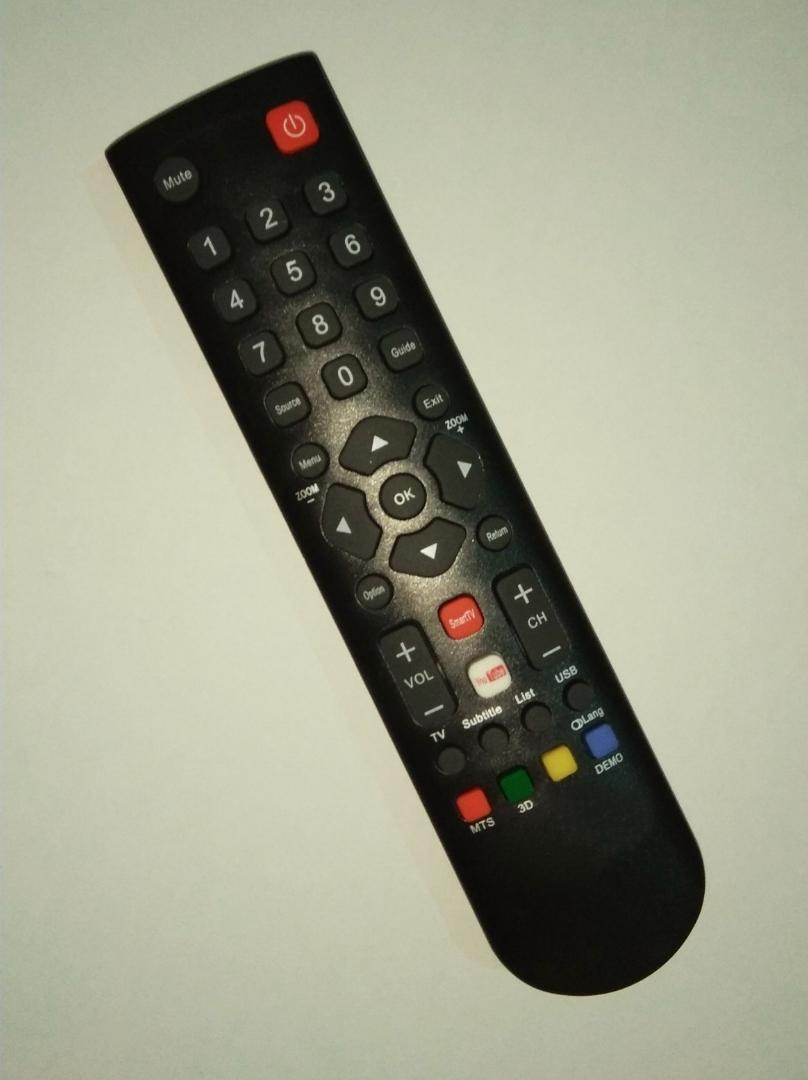 TCL LED LCD TV Remote with YouTube & Smart TV Buttons