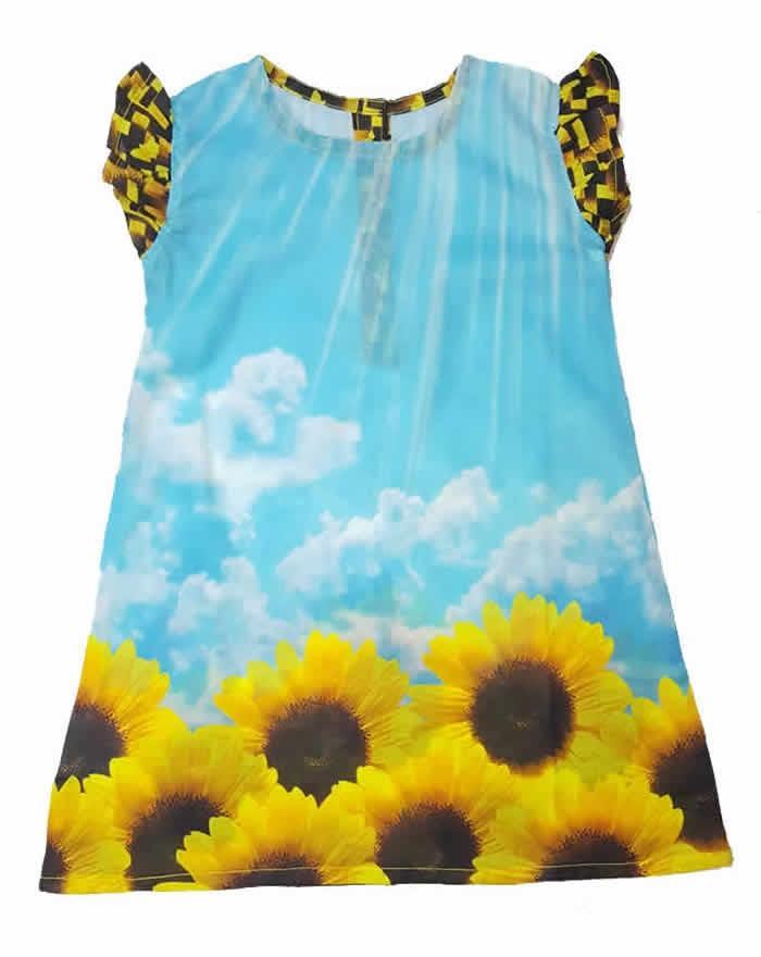 e71034f2f0 Girls Digital Printed Summer Lawn Frocks 100% PREMIUM COTTON FROCK DRESSES BABY  GIRLS - 1