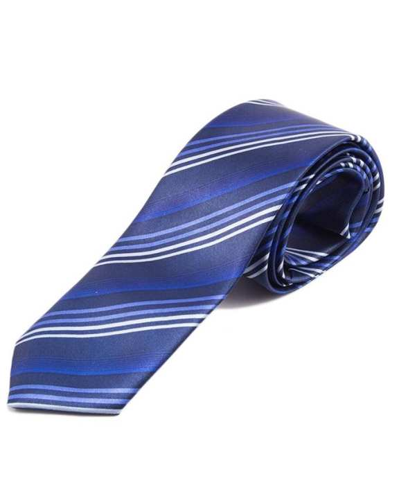 KOY PRINTED SLIM  SATIN SILK FALL COLLECTION TIES FOR MEN