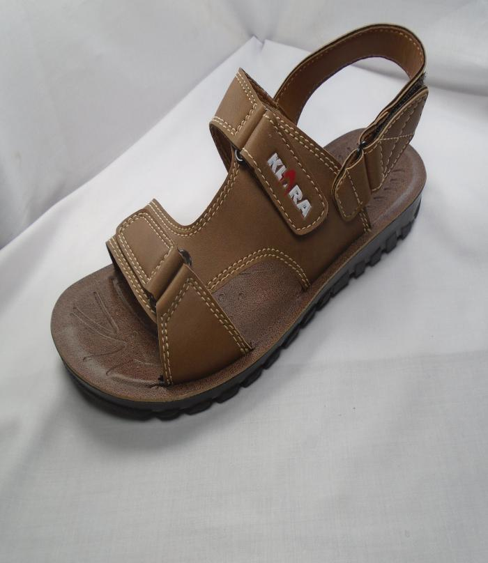 Brown Synthetic Pu Sole Fancy Sandal For Men  576 50684