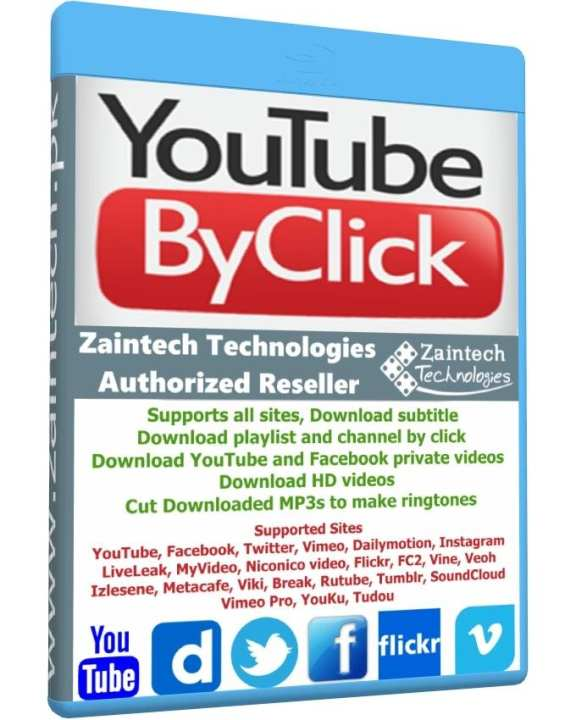 Youtube By Click - Windows - Lifetime License