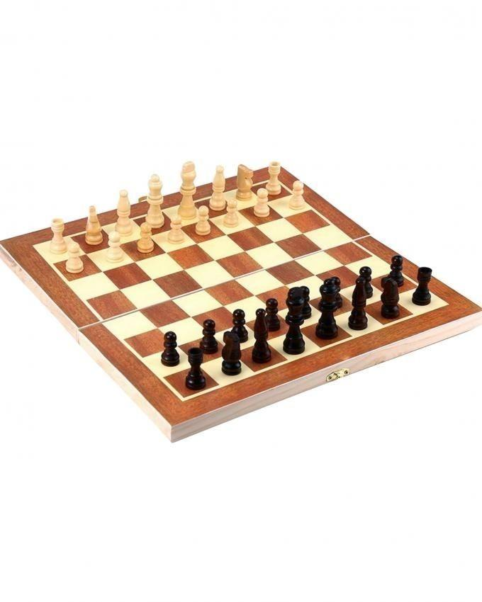 Wooden Chess Game 3 in 1