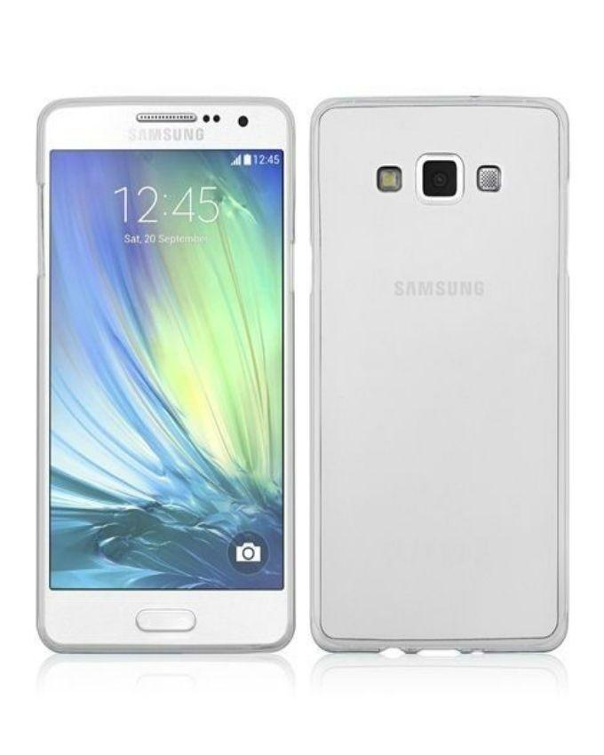 Back Cover for Samsung Galaxy A7 - Transparent