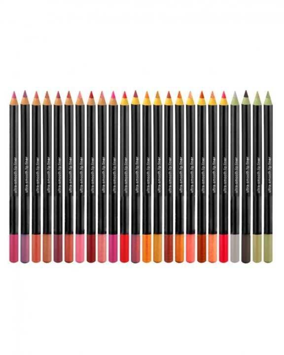 Pack of 24 - Eye & Lip Liner Pencils - Multicolor