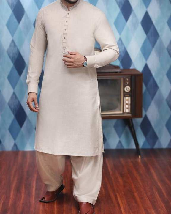 Fawn P.V Men's Kameez Shalwar Winter Collection Volume 4,2017