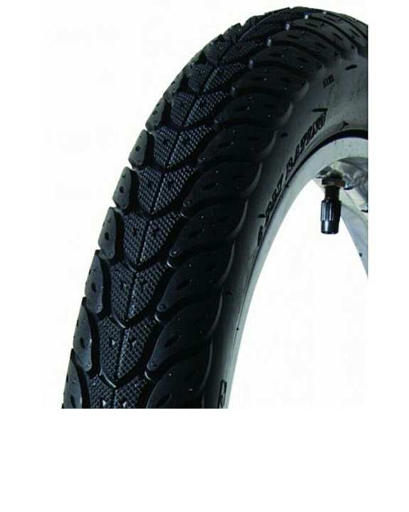 Moterbike 70cc Back tyre with tube - black