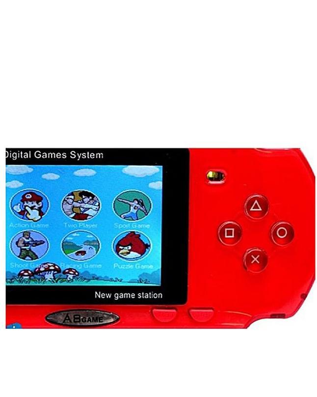 Crash 9 Pocket Game - A8 - Red
