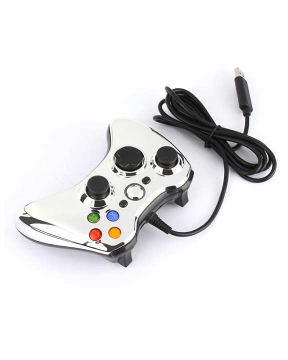 GameStop Wired Joystick For Xbox 360 - Crystal Silver