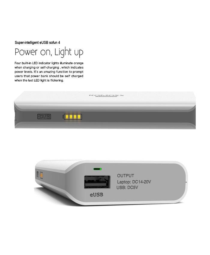Laptop Power Bank 10400 MAH EUSB - Sofun 4