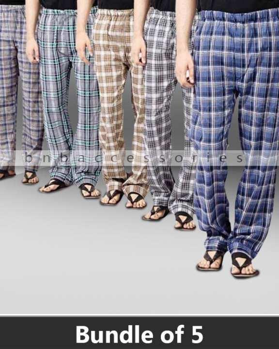 Pack of 5 - Checkered Pajamas