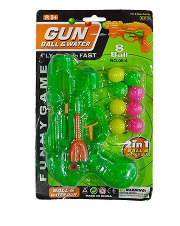 Gun and Water Ball