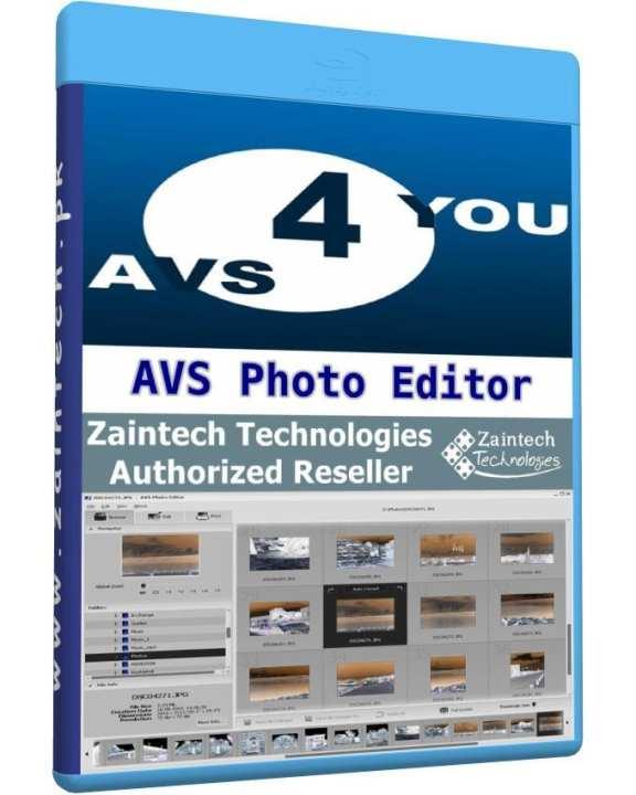 AVS Photo Editor - 1 PC Lifetime License