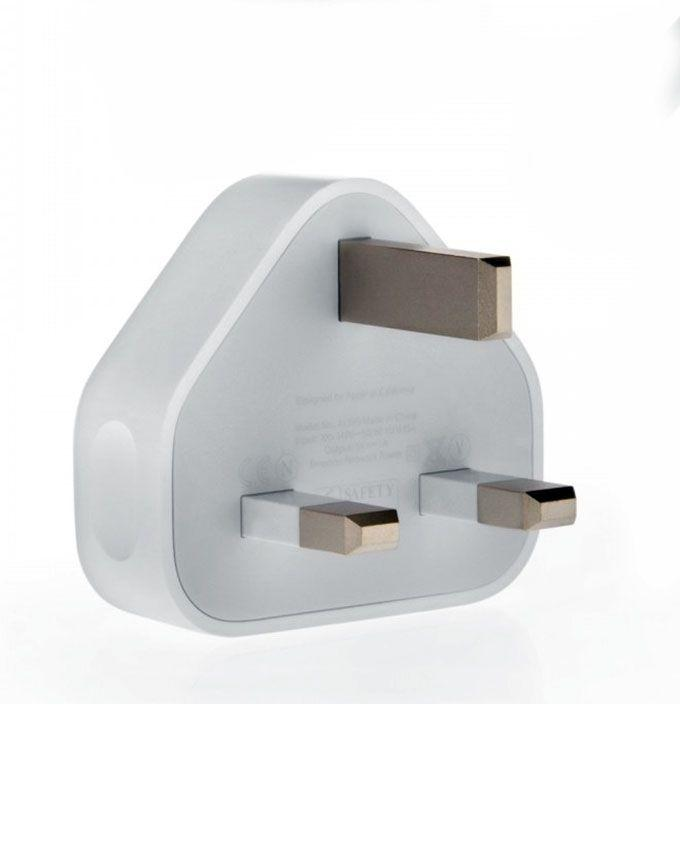 Genuine Charging Adapter For iPhone 7, 7 Plus, 6 & 6S - White