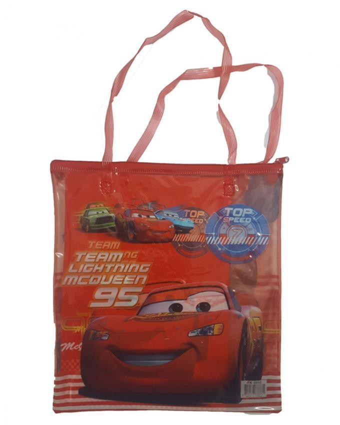 Frozen and Cars Stationery Bag with Drawing Book