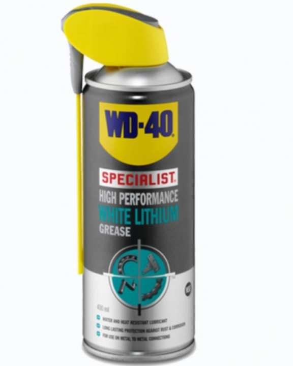 WD40 Specialist White Lithium Grease - 400ml